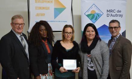 Huit prix Distinction remis par Développement Économique D'Autray