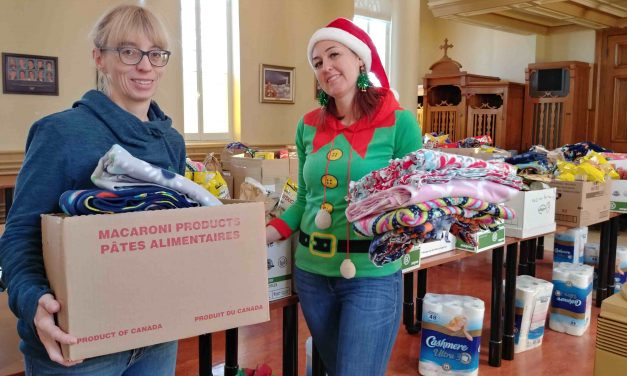 Plus de 170 paniers de Noël seront distribués aux familles de la région
