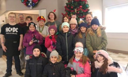 Dîner de Noël – école primaire de Saint-Alphonse