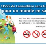 Le CISSS de Lanaudière sans fumée :pour un monde en santé