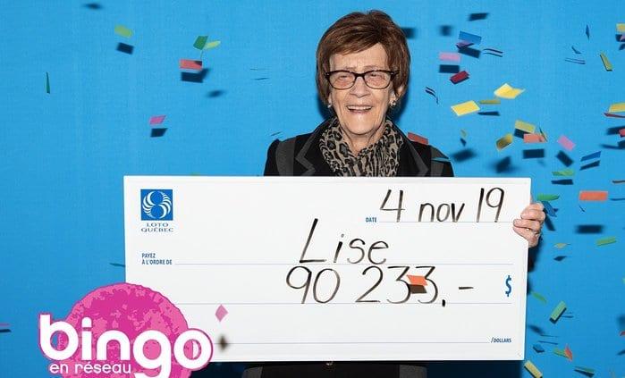 Bingo en réseau : toute une surprise pour une Lanaudoise!