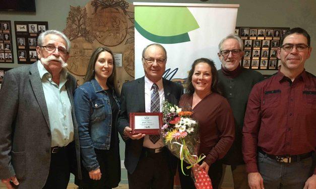 20 ans de service comme maire de Sainte-Marceline-de-Kildare