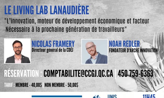 Nicolas Framery et Noah Redler vous présentent le Living Lab Lanaudière