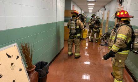 Incendie à l'école secondaire l'Érablière