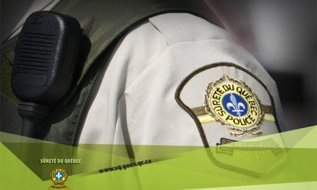 Saint-Donat : arrestation pour introduction par effraction
