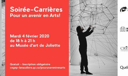 Soirée-Carrières : pour un avenir en Arts!