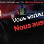 Bilan de l'opération nationale concertée Alcool ou drogue au volant, c'est criminel !