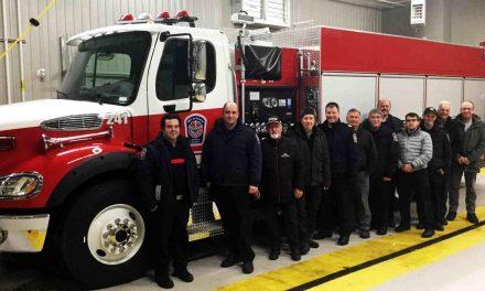 Un nouveau camion pour le Service de sécurité incendie de la MRC de D'Autray