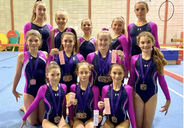De belles performances pour les gymnastes du secteur régional de Hopla