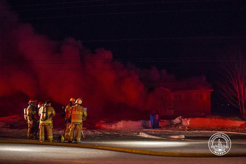 Une résidence endommagée par un incendie à Saint-Barthélemy
