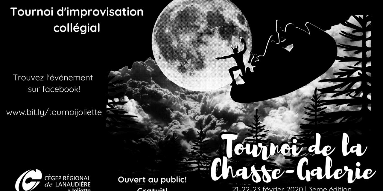 Le Cégep à Joliette vous invite au Tournoi d'improvisation de la Chasse-Galerie