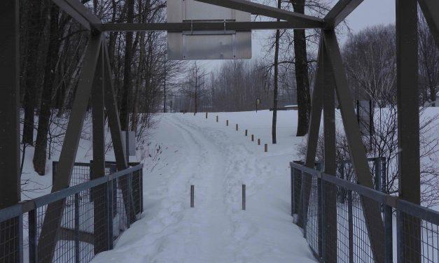 Un groupe de citoyennes et citoyens réclament le déneigement de la piste cyclable entre Notre-Dame-des-Prairies et le parc Bosco