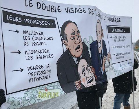 « Allons-nous être bâillonnés en négo comme pour le projet de loi 40? » – François Breault, SEL-CSQ