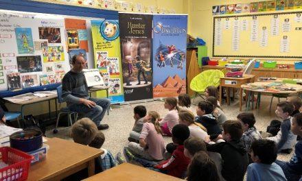 Soirée littéraire à l'ècole primaire Sainte-Thérèse