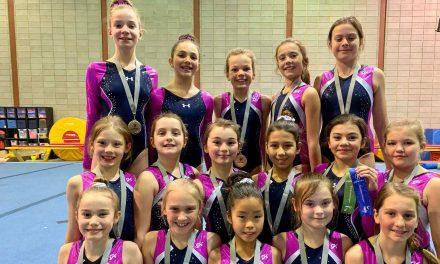 Belle compétition pour les gymnastes du secteur régional de Hopla