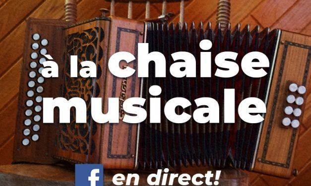 Philippe Jetté et Mélanie Boucher souhaitent élever un record de participation au jeu de la chaise musicale