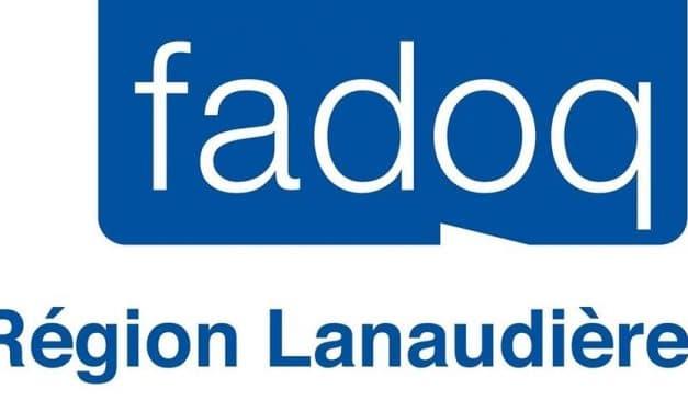 Fermeture du bureau régional et annulation des Jeux FADOQ