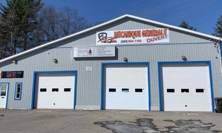Un nouveau garage de mécanique générale à Rawdon