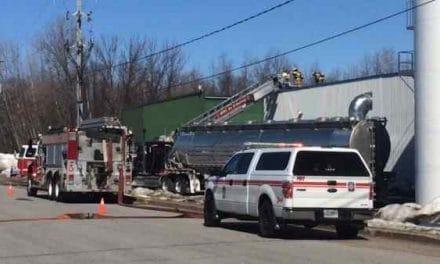 Incendie d'origine accidentelle à l'usine Matra Plast de Berthierville