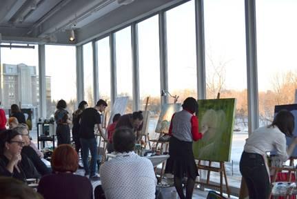Un printemps productif et enrichissant pour les étudiants en Arts visuels du Cégep à Joliette