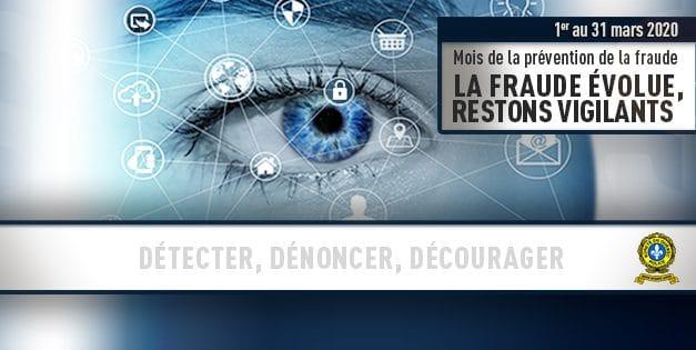 Lancement du mois de la prévention de la fraude