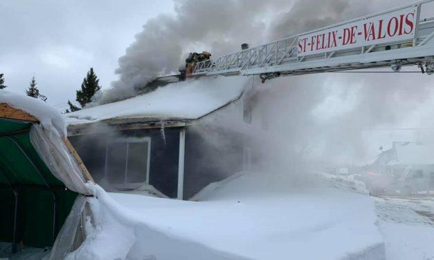 Saint-Félix : une résidence ravagée par un incendie