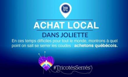 La députée de Joliette, Véronique Hivon et la Chambre de Commerce du Grand Joliette, #TricotésSerrés !