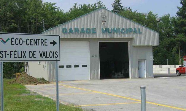 Réouverture de l'écocentre à Saint-Félix-de-Valois
