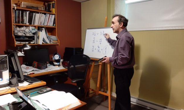 Des cours en ligne à l'Académie Antoine-Manseau