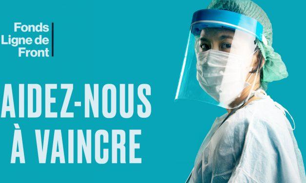 Des fondations hospitalières canadiennes lancent le Fonds – Ligne de Front pour appuyer la lutte contre le COVID-19