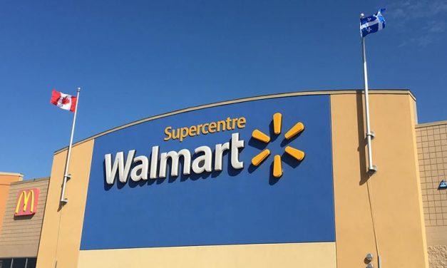 Fermeture de Walmart jusqu'à lundi