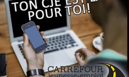 Ton Carrefour jeunesse-emploi est là pour toi!