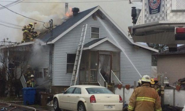 Berthierville : une résidence unifamiliale détruite par un incendie