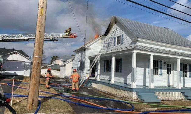 Incendie suspect à Saint-Jean-de-Matha