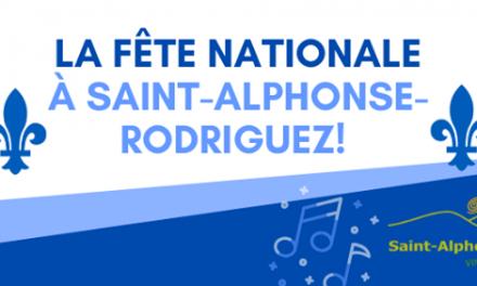 La Fête nationale à Saint-Alphonse-Rodriguez sous un vent numérique et festif !