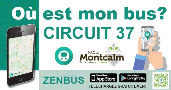 Service des Transports de la MRC de Montcalm et ZENBUS: des données en temps réel !