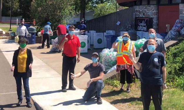 La grande collecte solidaire permet d'amasser plus de 3000$