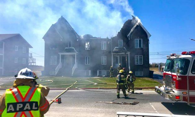 Crabtree : un immeuble de six logements détruit par un incendie