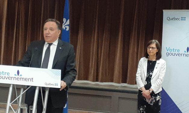 « La situation est sous contrôle dans Lanaudière » – François Legault