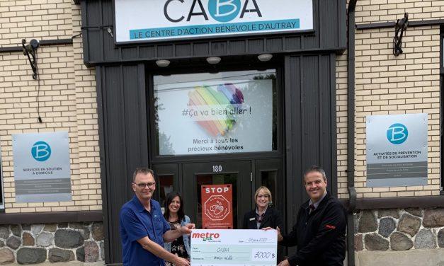 De la générosité pour le CABA !