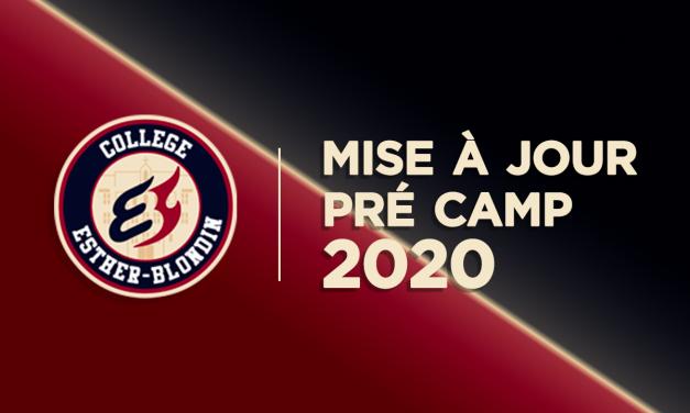 Mise à jour – Pré-camp 2020 des Phénix midget AAA