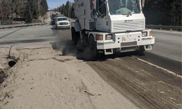 L'opération nettoyage et marquage des routes est en cours