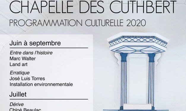 La Corporation du patrimoine de Berthier lance la programmation culturelle de la chapelle des Cuthbert et son nouveau site web!