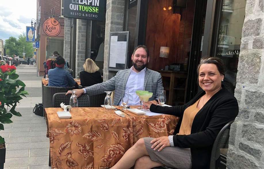les restaurants et les terrasses sont officiellement ouverts au centre-ville de Joliette !