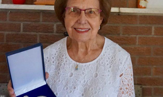 Une mathaloise de 88 ans reçoit la Médaille d'argent du lieutenant- gouverneur