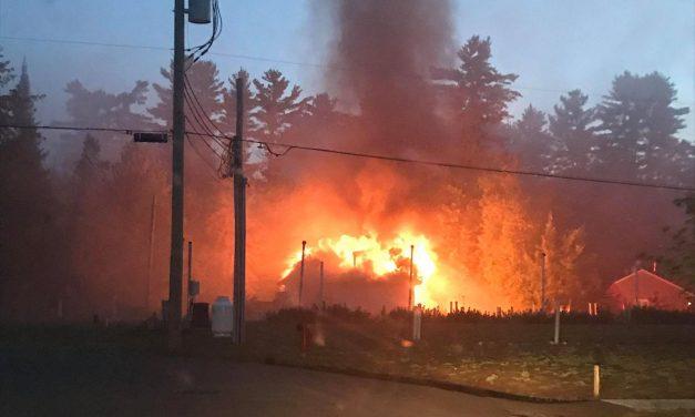 Saint-Ambroise : une résidence ravagée par un incendie