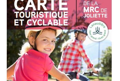 Une nouvelle carte touristique et cyclable pour la MRC de Joliette