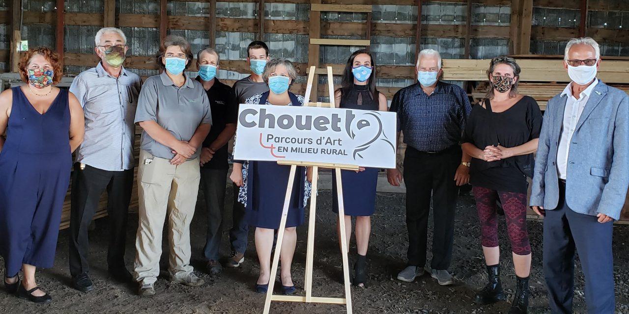 Parcours d'art en milieu rural : CHOUETTE ! – la signature visuelle dévoilée !