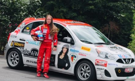 Marie-Soleil Labelle et l'équipe Musée Gilles-Villeneuve en piste ce week-end