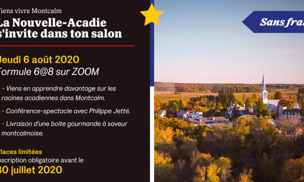 Découvrir la Nouvelle-Acadie dans le confort de votre foyer